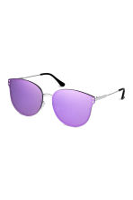 Mirrored-lens sunglasses - Purple - Ladies | H&M CN 1